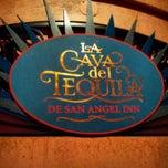 Photo taken at La Cava del Tequila by Cris M. on 4/24/2012