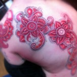 Photo taken at Trinity Tattoo Co. by Dave L. on 9/1/2012