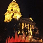 Photo taken at Illinois State Capitol by Mike B. on 5/28/2012