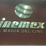 Photo taken at Cinemex by sandy Z. on 8/14/2012