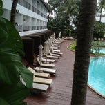 Photo taken at Patong Beach Hotel by Joshua S. on 5/28/2012