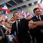 Photo taken at Centre Sportif des Rives de la Thur - Salle Thierry Omeyer by Nicolas Sarkozy on 4/26/2012