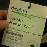 Photo taken at droidcon by Julian W. on 3/13/2012