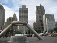 Cover Photo for Kublai-Osawe Khanovich's map collection, Detroit  Hart Plaza