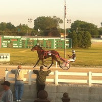 Photo taken at Maywood Park Racetrack by Misha K. on 6/8/2012