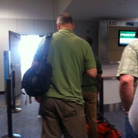 Photo taken at Gate E32 by Andy V. on 5/4/2012