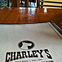 Photo taken at Charley's Restaurant & Saloon by Erik B. on 5/16/2012