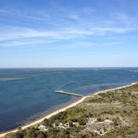 Photo taken at Robert Moses State Park Beach by Brittney on 5/12/2012