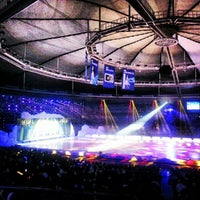 Photo taken at Olympic Gymnastics Arena by Euy Suk K. on 8/24/2012