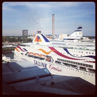 Photo taken at Frihamnsterminalen | Tallink - S:t Peter Line by Lana 🍓 Blackcurrant on 7/28/2012