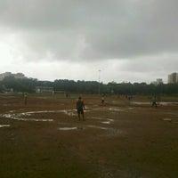 Photo taken at Shivaji Park by Harshad C. on 6/17/2012