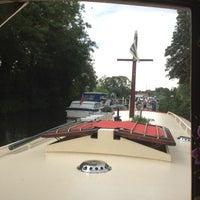 Photo taken at Sunbury lock by Chris T. on 8/19/2012
