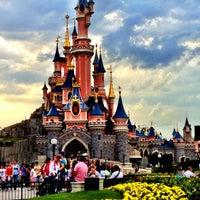 Photo taken at Disneyland® Paris by Daria N. on 6/28/2012
