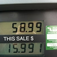Photo taken at Meijer Gas Station by Damon A. on 2/29/2012