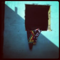Photo taken at Baobab Café by Amanda P. on 4/23/2012