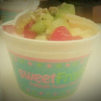 Photo taken at Sweet Frog by Alyssa S. on 3/15/2012
