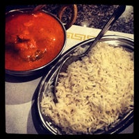 Photo taken at Mehfil Indian Cuisine by paulina a. on 7/10/2012