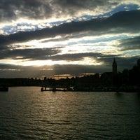 Photo taken at Romanshorn Hafen by Kuba V. on 7/12/2012