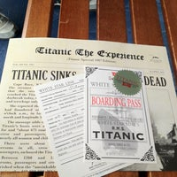 Photo taken at Titanic The Artifact Exhibition by Judy on 4/14/2012