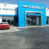 Photo taken at Ron Westphal Chevy by Roza M. on 7/19/2012