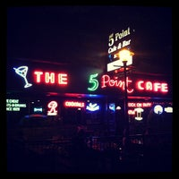 Photo taken at The 5 Point Cafe by Lorena R. on 7/28/2012