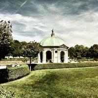 Photo taken at Hofgarten by Raimund V. on 8/15/2012