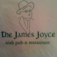 Photo taken at The James Joyce Irish Pub & Restaurant by Laura C. on 3/15/2012