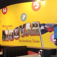 Photo taken at MOOYAH Burgers, Fries & Shakes by Kyle R. on 6/6/2012