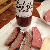 Photo taken at Rudy's Country Store & Bar-B-Q by Gloria M. on 3/18/2012