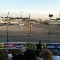 Photo taken at Toledo Speedway by Judy A. on 7/14/2012