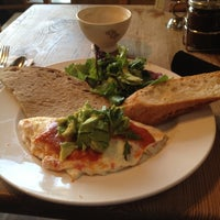 Photo taken at Le Pain Quotidien by Alan F. on 4/12/2012