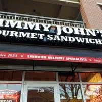 Photo taken at Jimmy John's by Satira T. on 3/16/2012