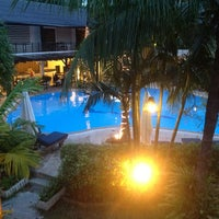 Photo taken at Bamboo Beach Hotel & Spa by Ah L. on 8/22/2012