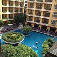 Photo taken at Mantra Pura Resort And Spa Pattaya by Nipon Z. on 5/26/2012