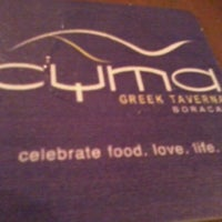 Photo taken at Cyma by Ice F. on 4/5/2012