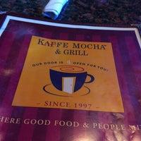 Photo taken at Kaffe Mocha & Grill by Katylou M. on 6/6/2012