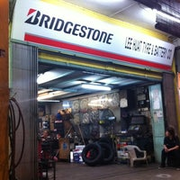 Photo taken at Lee Huat Tyre&Battery Co by Florence C. on 2/20/2012