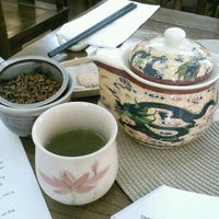 Photo taken at Radiance Tea House & Books by Christine T. on 8/12/2012