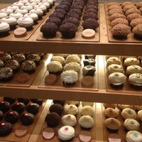 Photo taken at Sprinkles Cupcakes by Eva M. on 4/7/2012