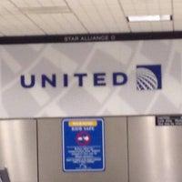 Photo taken at Terminal B by Abbie P. on 6/24/2012
