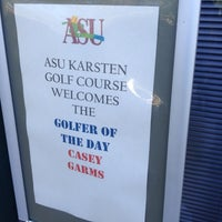 Photo taken at Karsten Golf Course by Casey G. on 5/14/2012