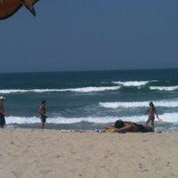 Photo taken at Praia Itamambuca by Fernando M. on 9/9/2012