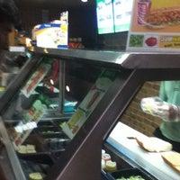 Photo taken at Subway by Venkatesh A. on 7/11/2012