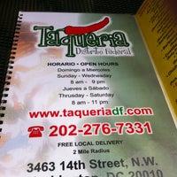 Photo taken at Taqueria Distrito Federal by Richard M. on 5/30/2012