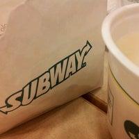 Photo taken at Subway by Eiji O. on 6/9/2012