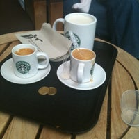 Photo taken at Starbucks Coffee by Carlos R. on 5/14/2011