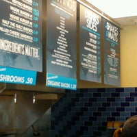 Photo taken at Elevation Burger by Dee M. on 6/5/2012