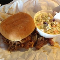 Photo taken at Honey Bear's BBQ by Justin H. on 8/30/2012