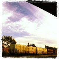 Photo taken at South San Francisco Caltrain Station by Yan B. on 10/15/2011