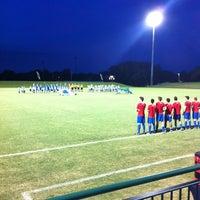 Photo taken at Corbett Soccer Stadium by Jalen W. on 9/3/2011